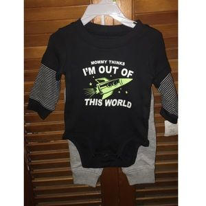New baby boy outfit